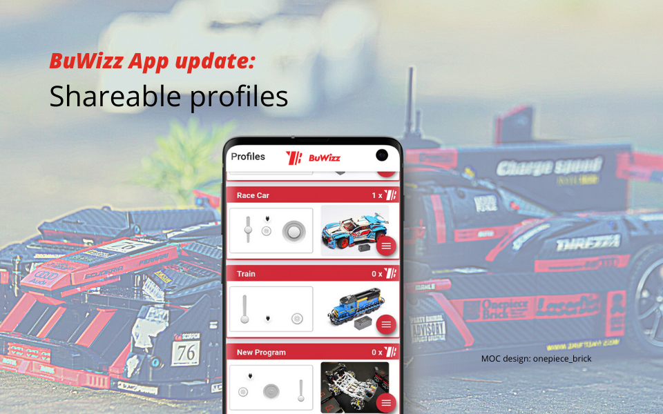 BuWizz App update: Shareable profiles