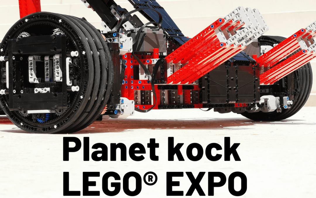 PLanet kock LEGO Expo